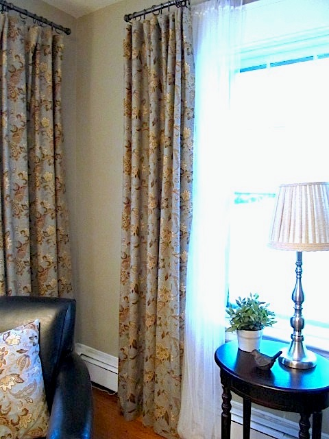 sew many ways how to make lined drapes picture tutorial. Black Bedroom Furniture Sets. Home Design Ideas