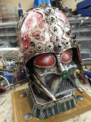 Star Wars Steampunk Darth Vader Junk Art by Gabriel Dishaw