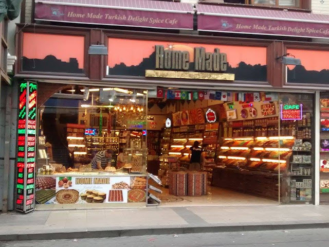 Turkish Delight (loja de doces turcos), em Istambul (2015)