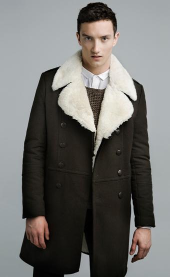 abrigos hombre invierno 2012 Zara