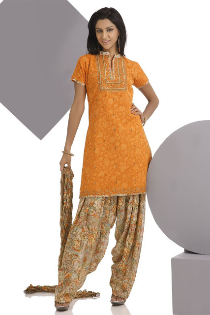 Salwar Kameez For Eid New Style FASHIONGURU99