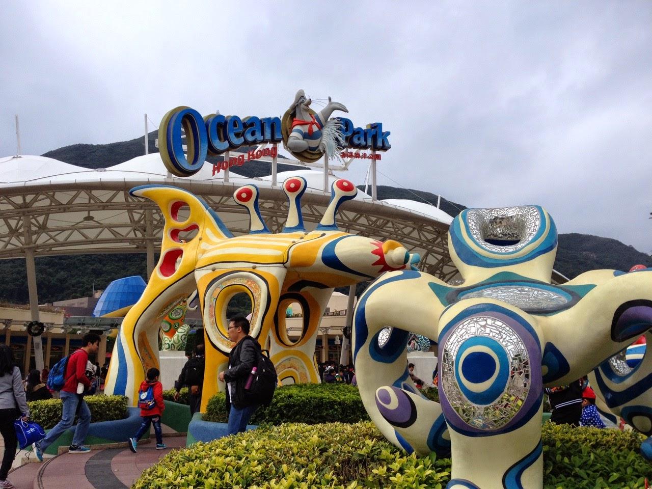 hong kong ocean park hours