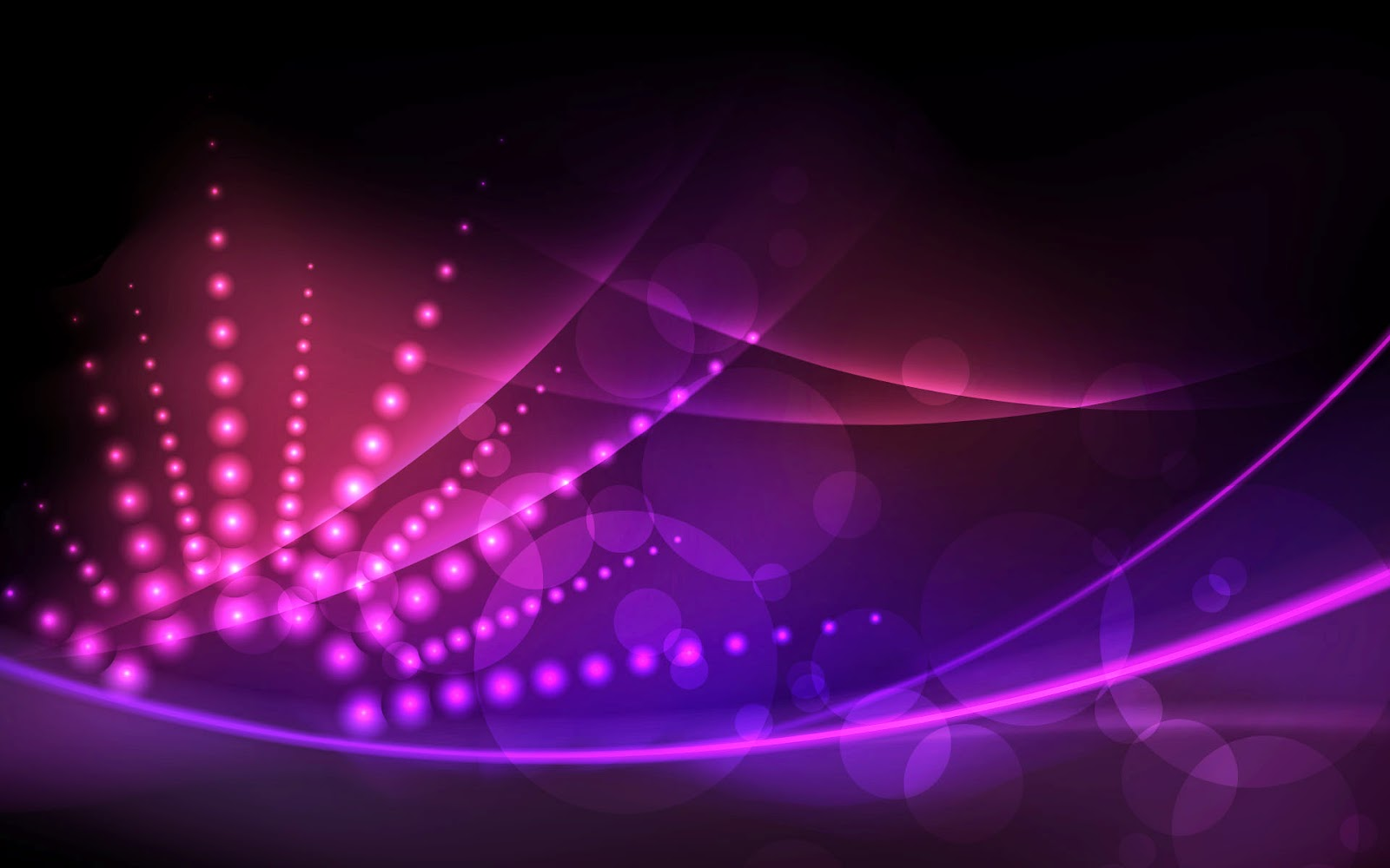 Awesome 18 HD Neon Glow Wallpapers