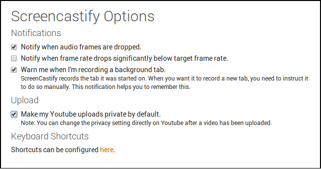 Important options for YouTube!