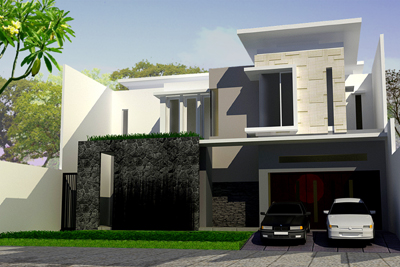 rumah modern on as the name suggests, uses very little arch profiles or complicated to ...