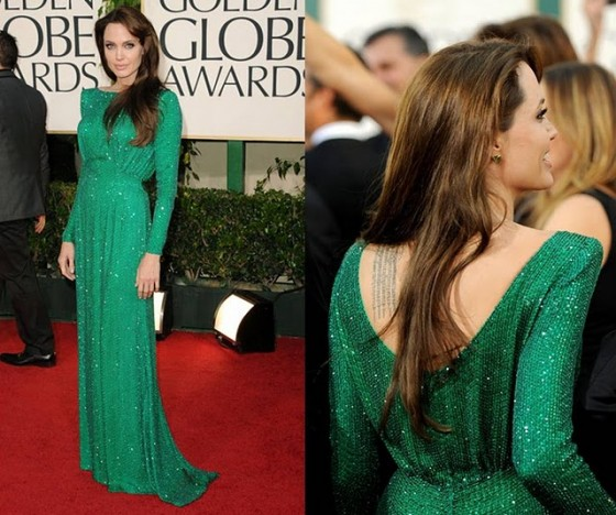 Eva Longoria Golden Globes 2011 best dressed Eva Longoria in Zac Posen The