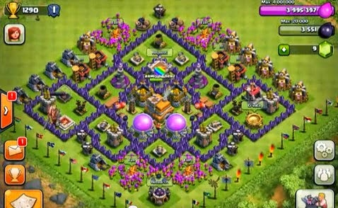 dise o de aldea h brida th7 clan emperadores