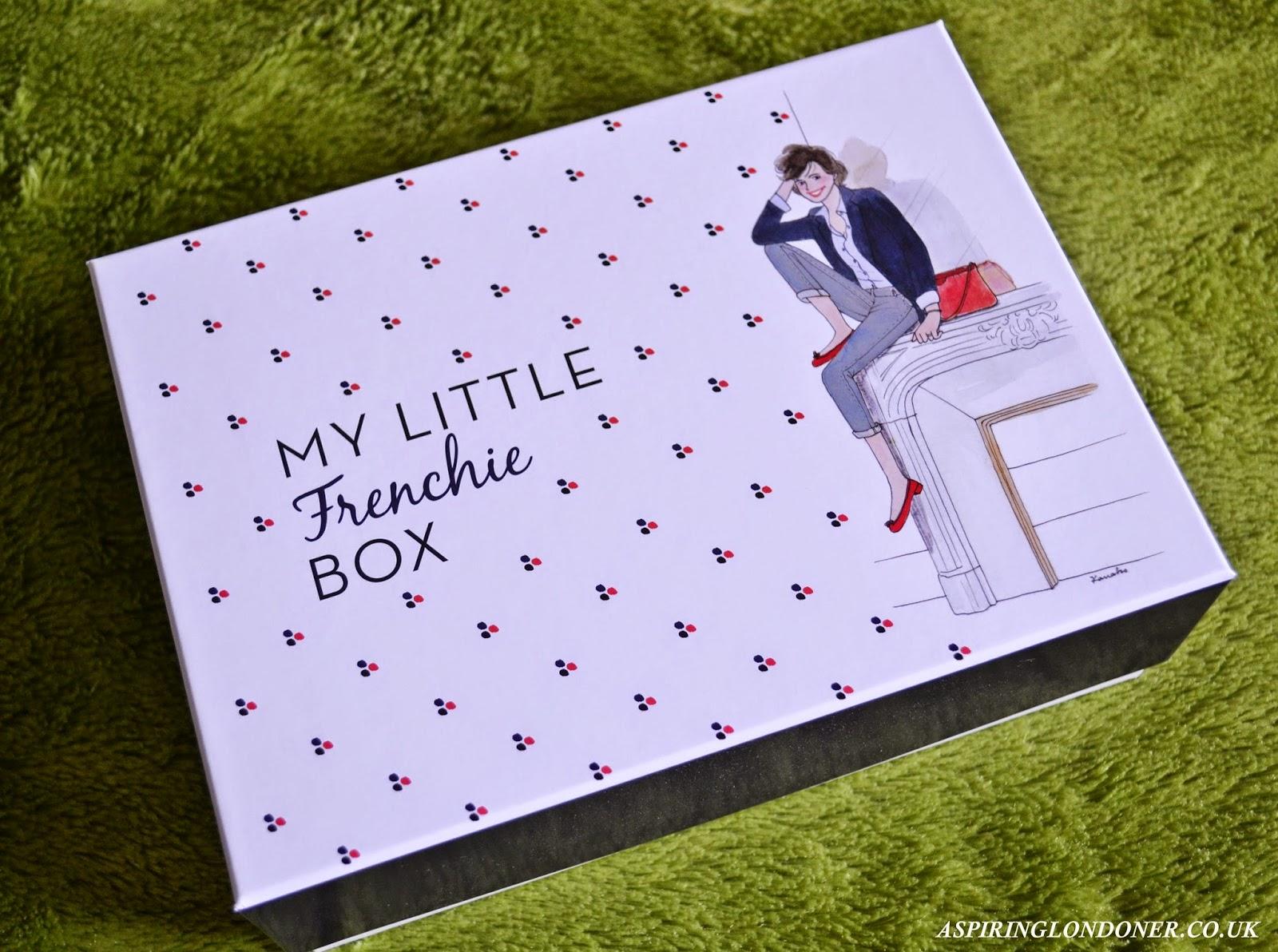 My Little Frenchie Box February 2015 Review - Aspiring Londoner