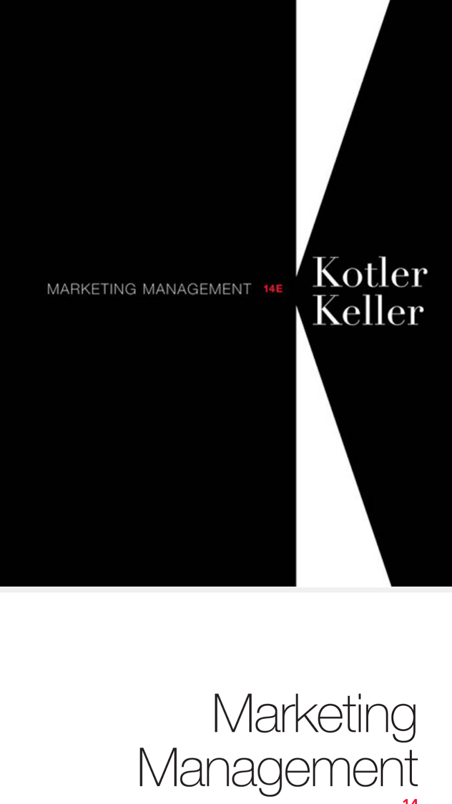 marketing management 14th ed kotler test Test bank for marketing management, 15th edition by philip kotler, kevin lane keller test bank for marketing an introduction, 12th edition by gary armstrong, philip kotler $ 2800 test bank for principles of marketing 16th edition kotler $ 2800.
