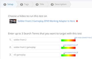 Picking YouTube Keywords Using VideoLC