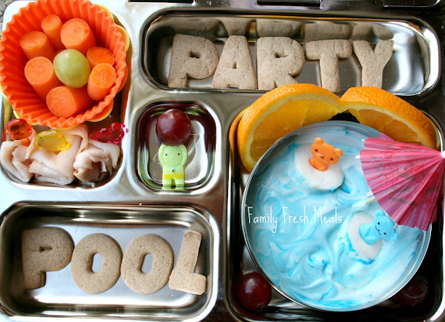 Bento love cool pool party family fresh meals forumfinder Choice Image