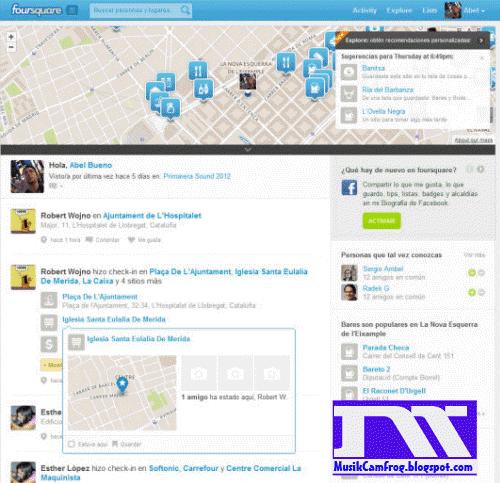 jejaring sosial  sosial media foursquare