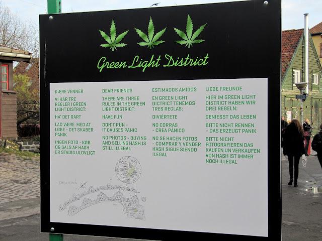 Green area en Christiania
