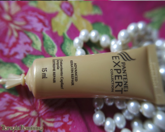 Ampolas Extreme Repair - Pantene Expert Collection.