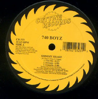 740 Boyz Bass\'Ed On This - Shimmy Shake-Bass Of The Soul (Vinyl, 12\'\' 1994)(Cutting Records)