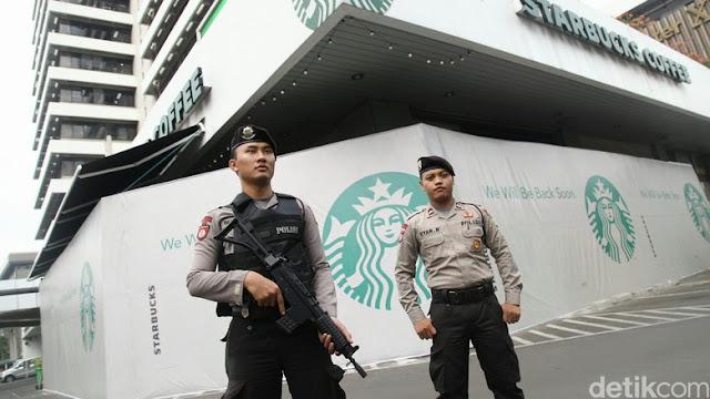 Polri Bekuk 6 Tersangka Terkait Bom Thamrin