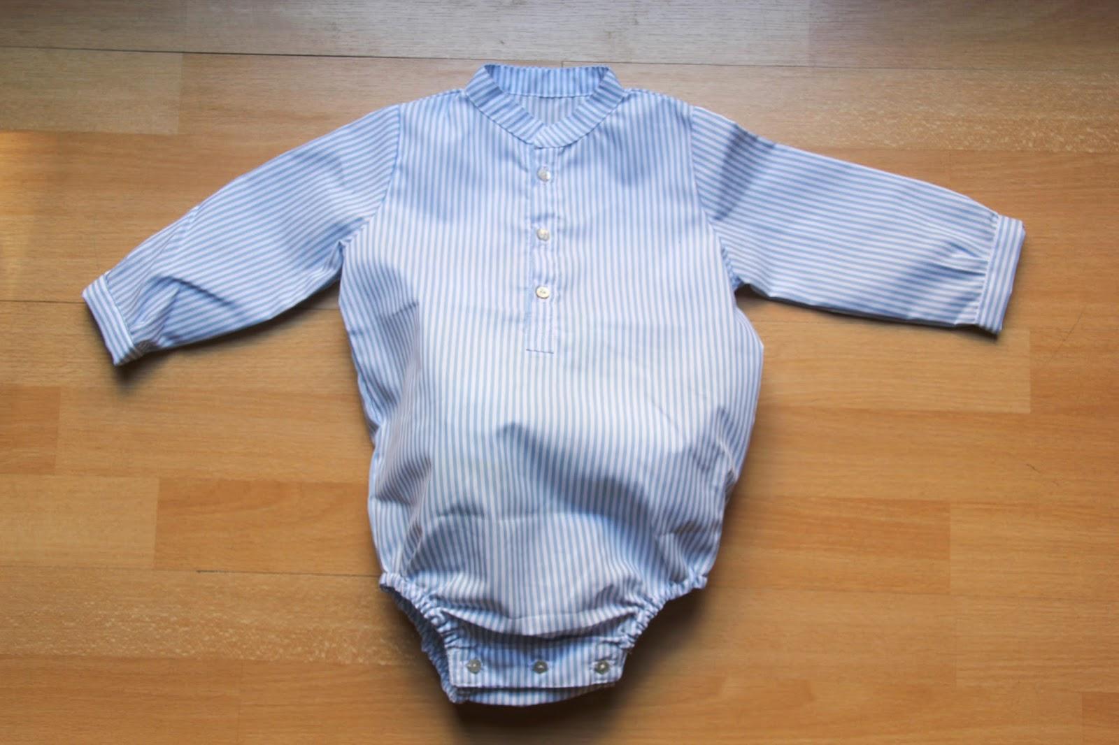 Diy c mo hacer camisa body para beb patrones gratis oh mother mine diy - Camitas para bebes ...
