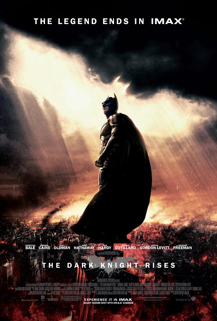 The Dark Knight Rises Final One Sheet Movie Poster