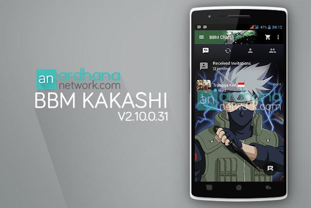 BBM Kakashi V2.10.0.31