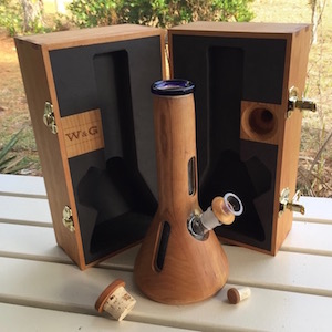 PROFILE The W&G Hardwood and Glass Water Pipe