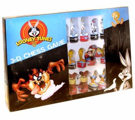 Ajedrez Looney Tunes