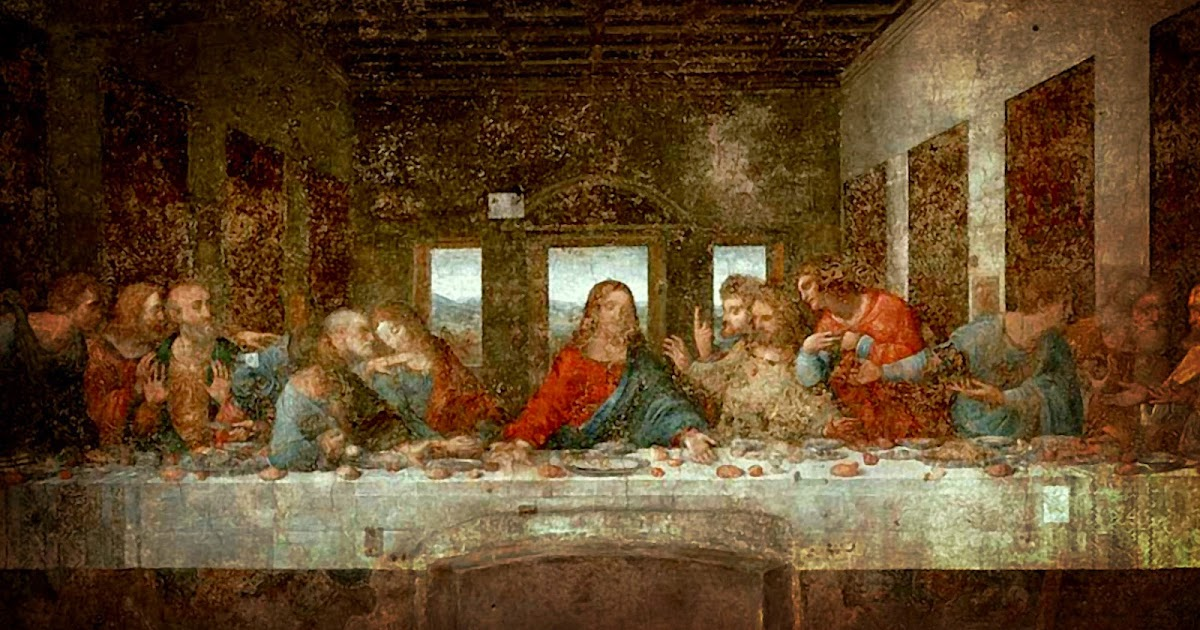 the gallery for gt the last supper da vinci restored