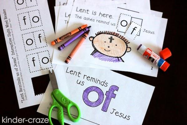 FREE Lenten emergent reader
