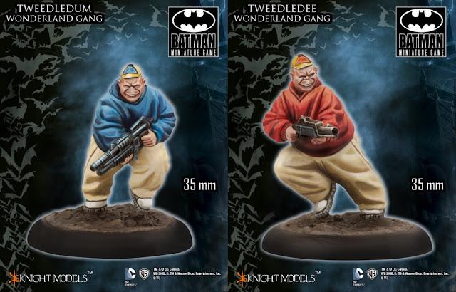 Tweedledee and Tweedledum Wonderland Gang
