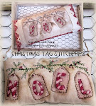 NOEL &amp; JOY TAGS STITCHERY