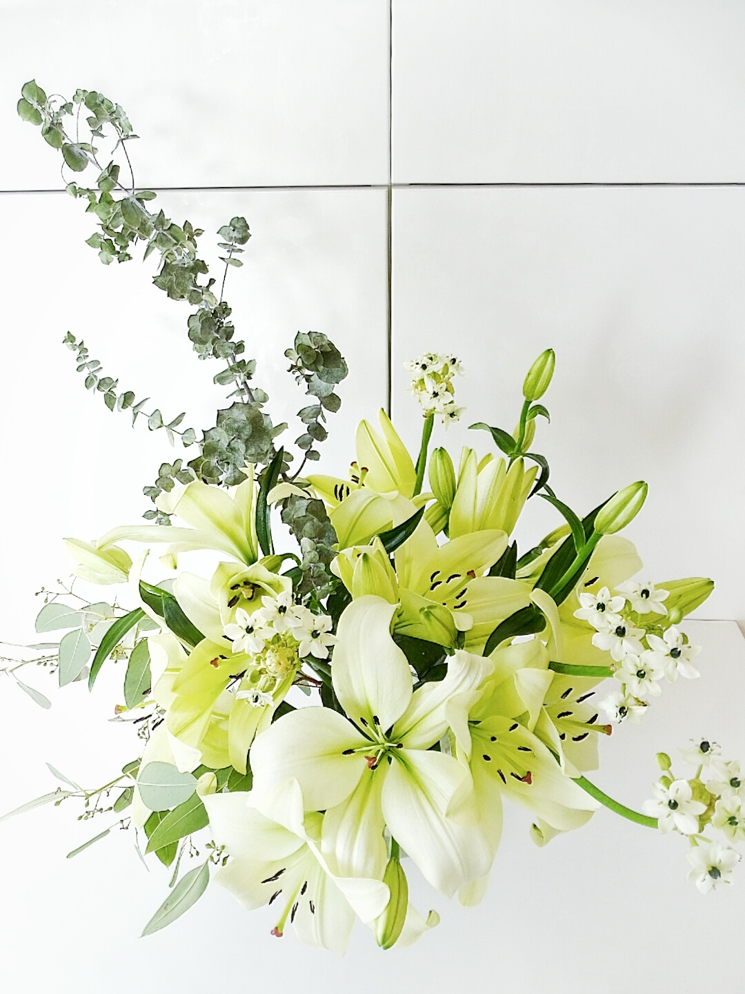 White Lilies Photo