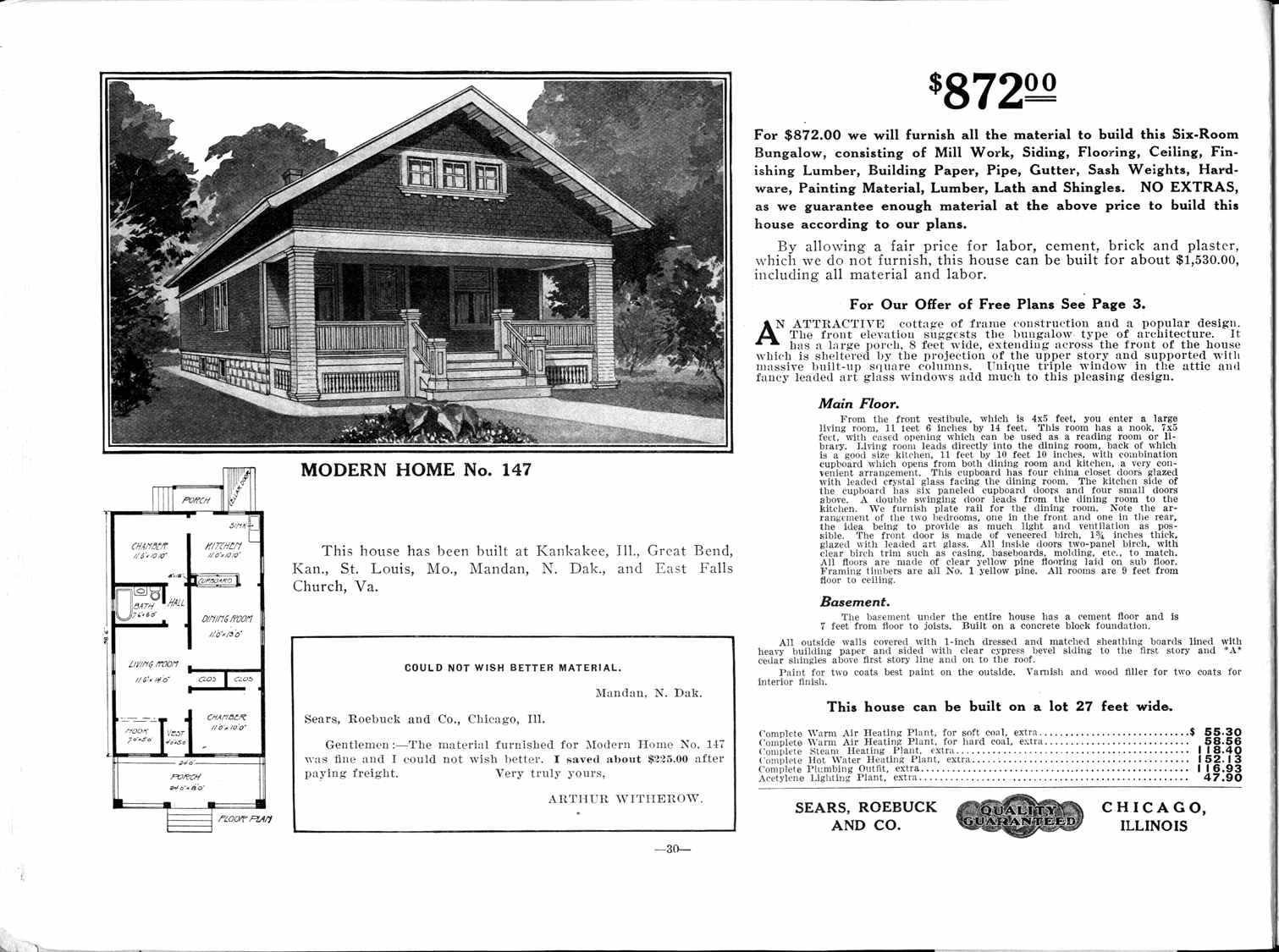 Noble Pursuits Circa 1920 Floor Plans