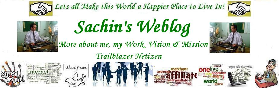 Sachin&#39;s Weblog