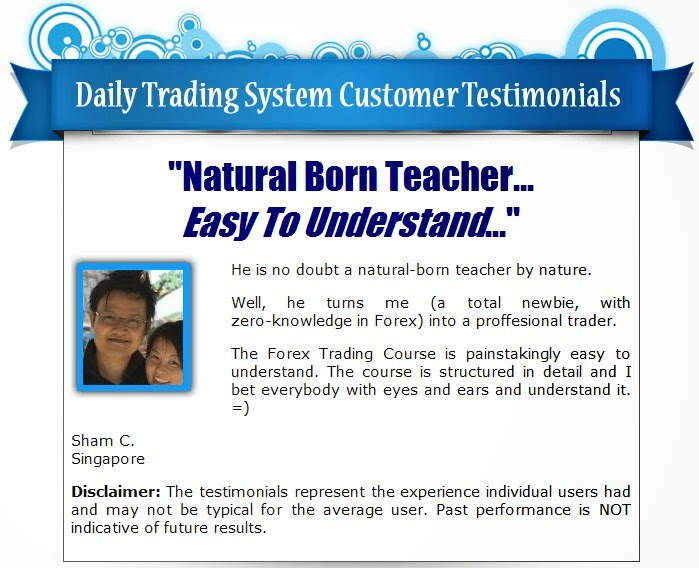 The forex daily trading system course