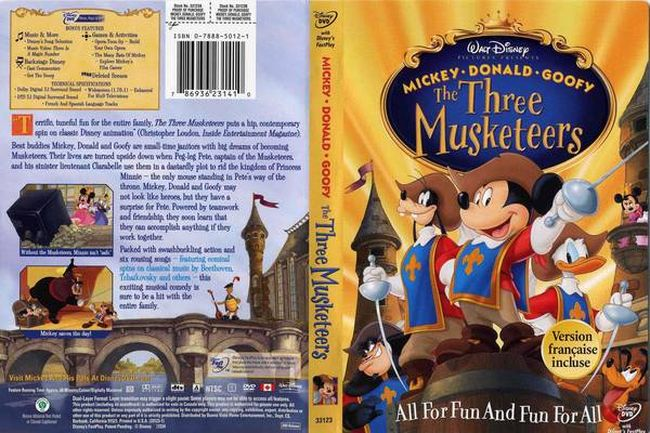 Mickey, Donald, Goofy: The Three Musketeers – Latino