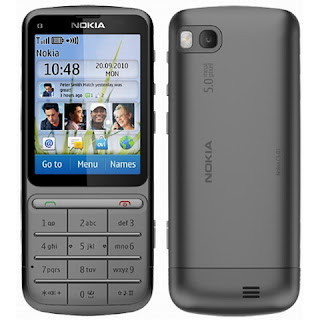 Nokia C3 Touch and Type Price