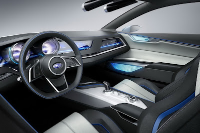 Subaru Viziv Interior