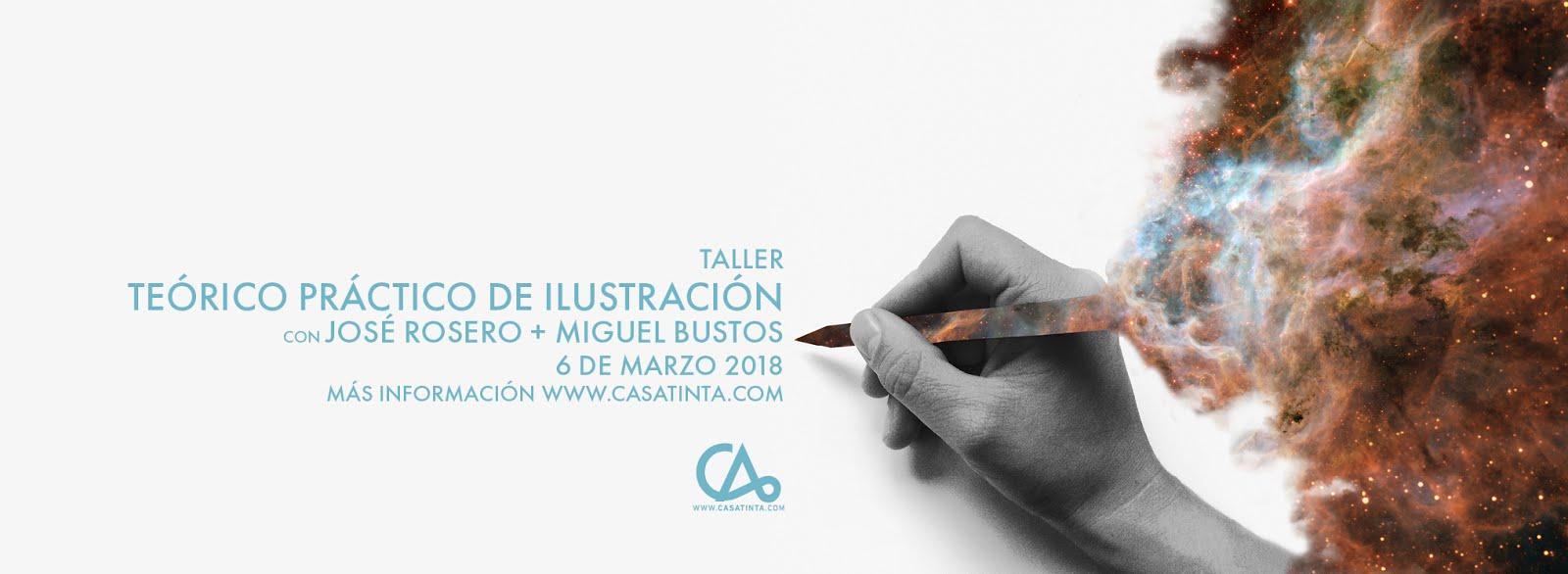 TALLER TEÓRICO PRÁCTICO DE ILUSTRACIÓN // 6 de marzo