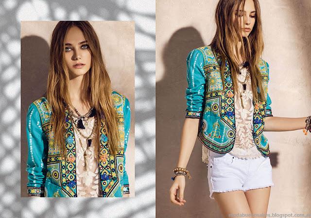 Moda 2016. Rapsodia ropa de moda primavera verano 2016.