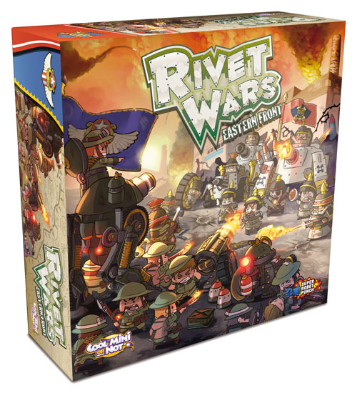 Edge nos ofrece el reglamento de Rivet Wars.