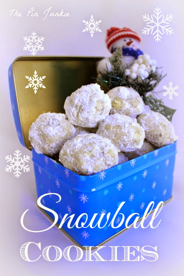snowball-cookies recipe
