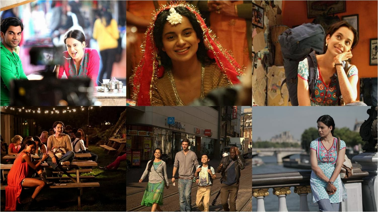 Kangana roaming as Rani in Delhi, Paris and Amsterdam in Queen movie stills
