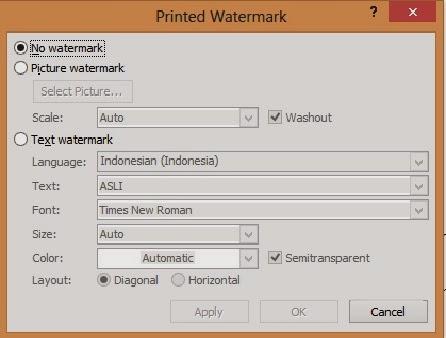 gambar printed watermark