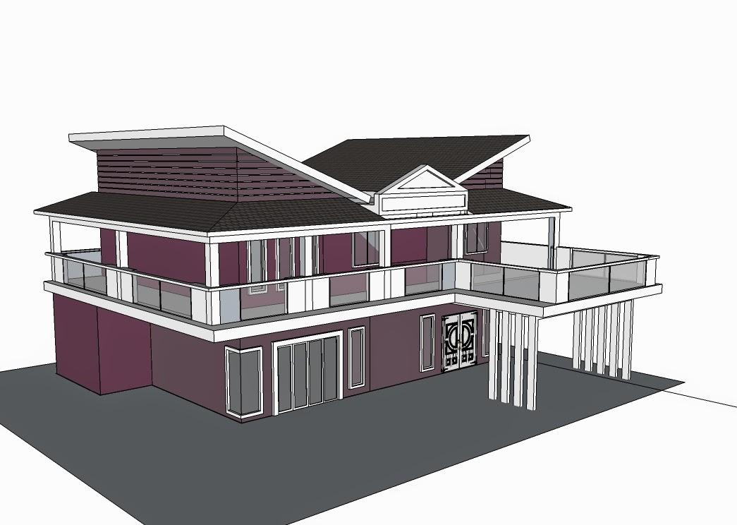TERATAK SYURGA BINA BANGLO: Gambar renovation dan ubah suai rumah