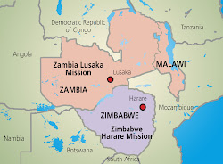 Zambia Mission Boundaries