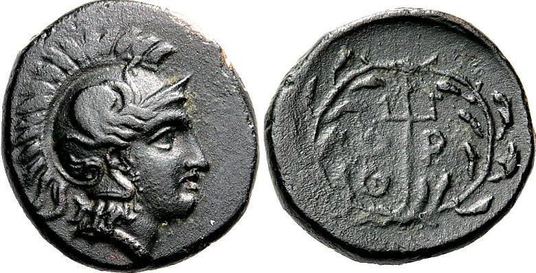 Orthe. Mid 4th century BC.