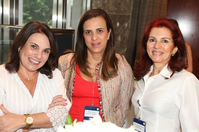 Valeria Goncalves, Mariliz Lima and Maria Cristina Godoy