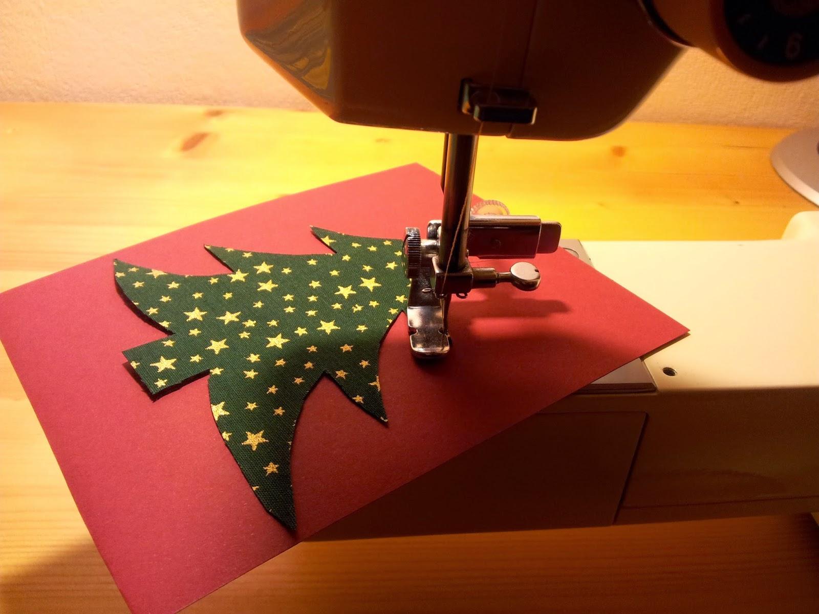 n hzone weihnachtlicher n h quickie weihnachtskarten n hen. Black Bedroom Furniture Sets. Home Design Ideas