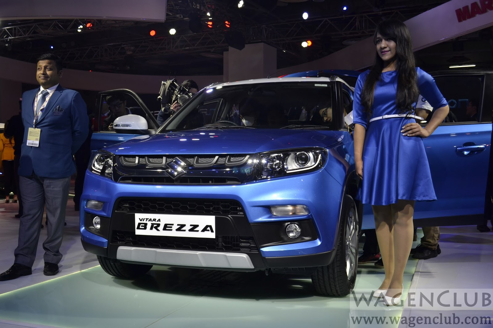 Maruti suzuki vitara brezza global debut 2016 auto expo live