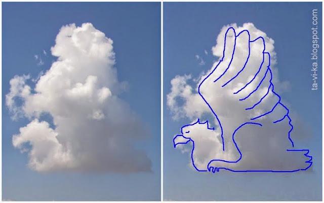 рисунки облаков