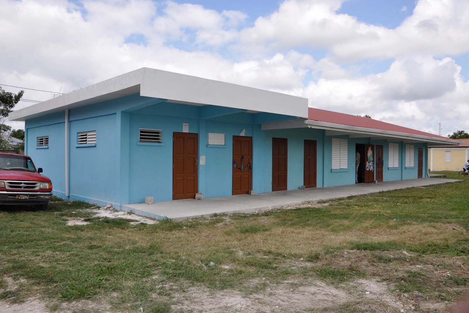 Village View Post Renovated School In Cristo Rey Village